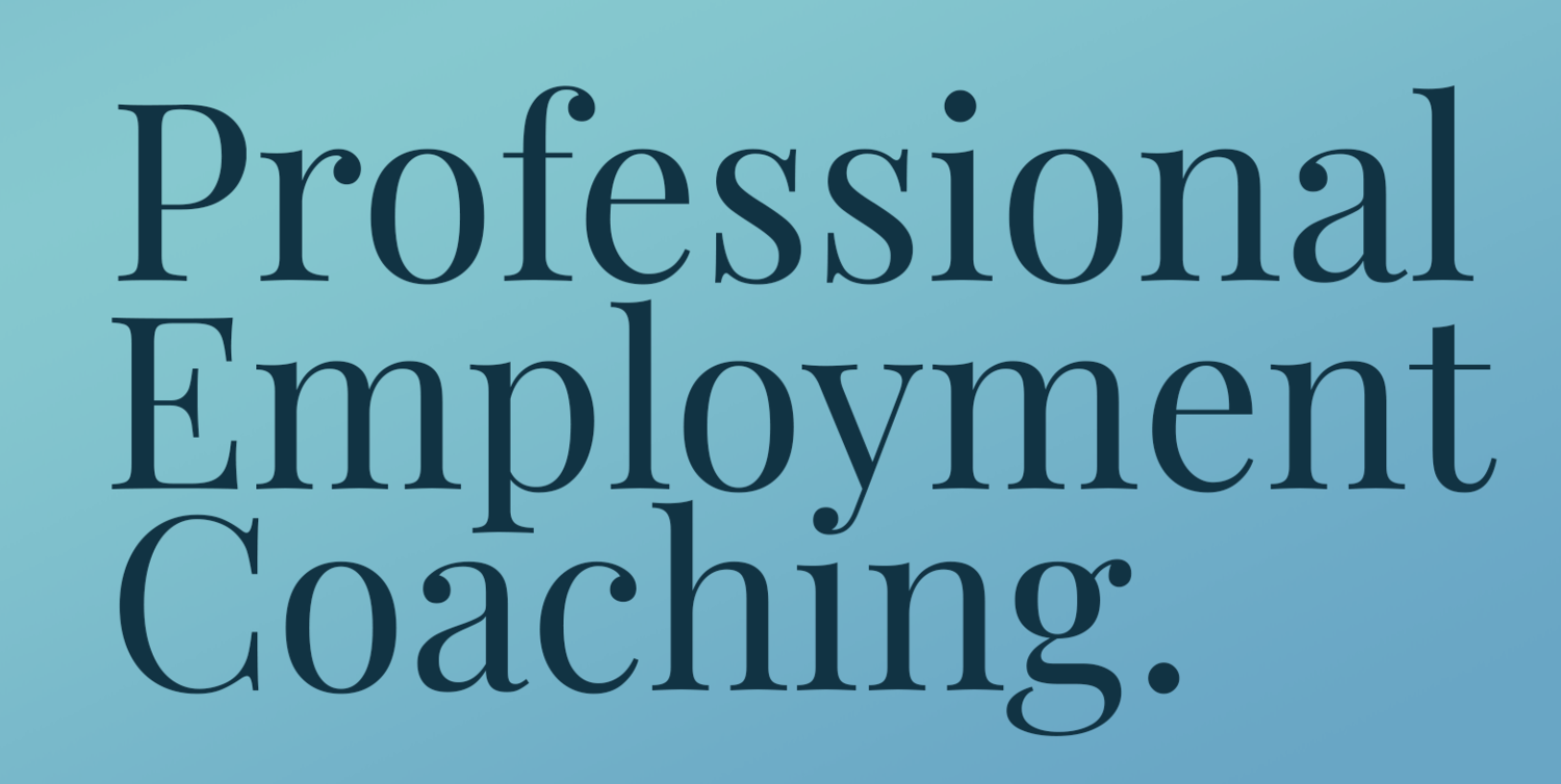 Professional Employment Coaching