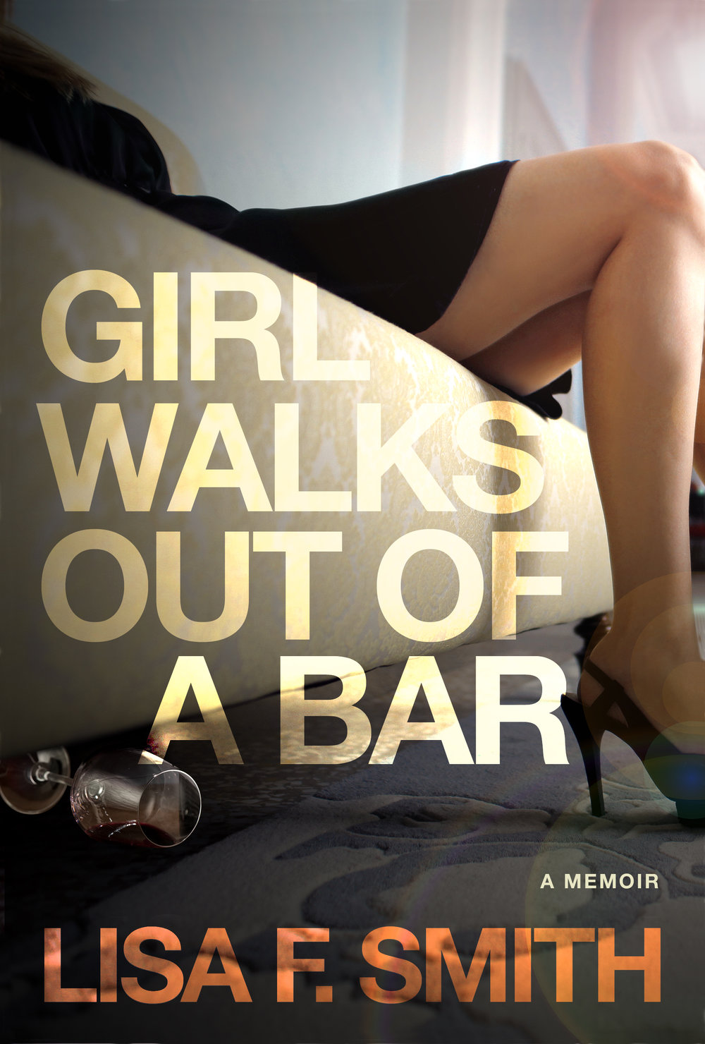To read more about author Lisa Smith, of Girl Walks out of a Bar, click here