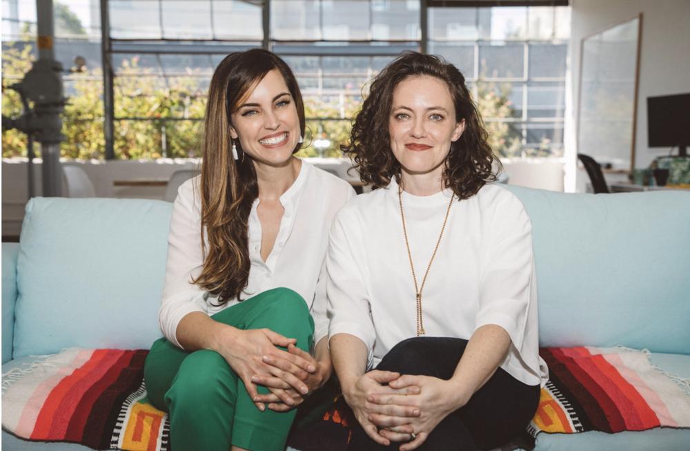 Workit Health founders, Lisa McLaughlin & Robin McIntosh