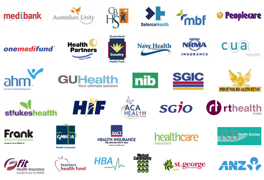 We Accept All Major Health Funds - Get on the Spot Rebate