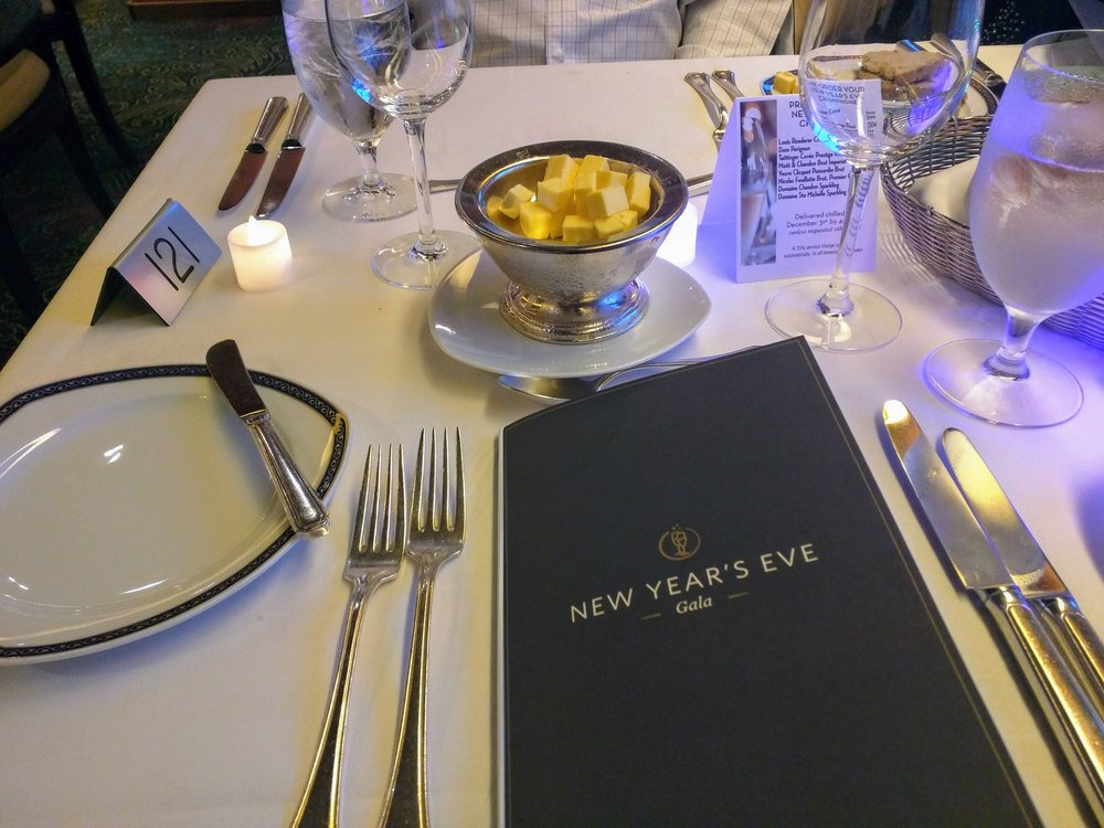 New Year's Eve Dinner Main Dining Room