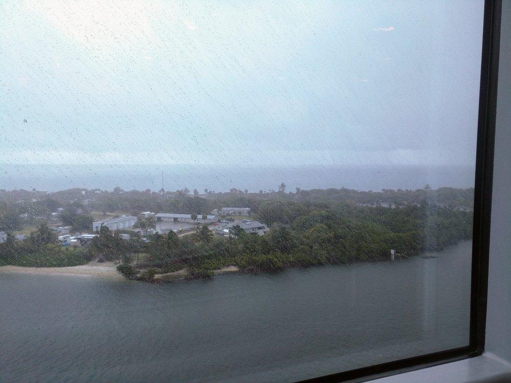 Rain in Fort Lauderdale