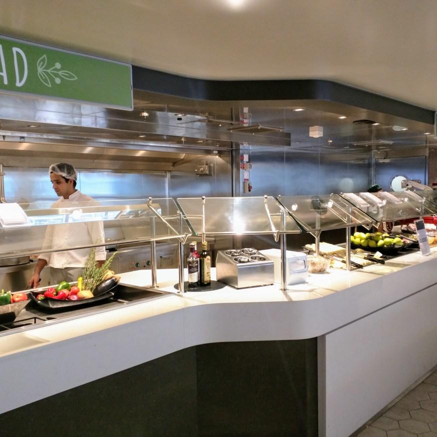 Marketplace Buffet Salad Bar
