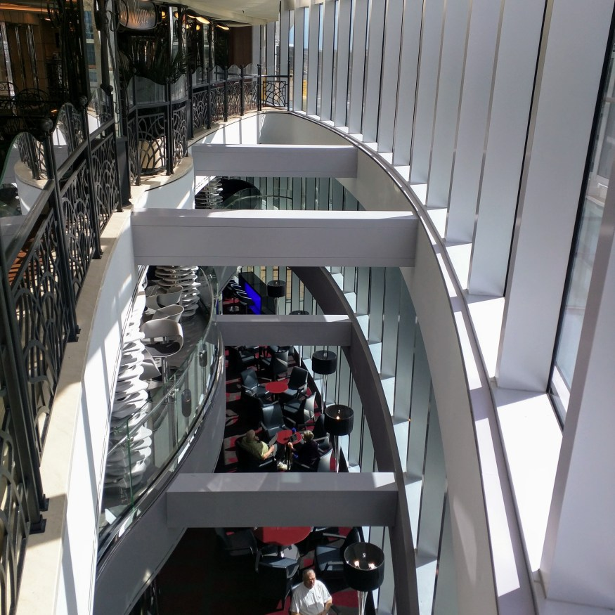 Above the Shine Bar