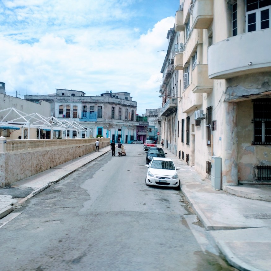 Side Street in Havana