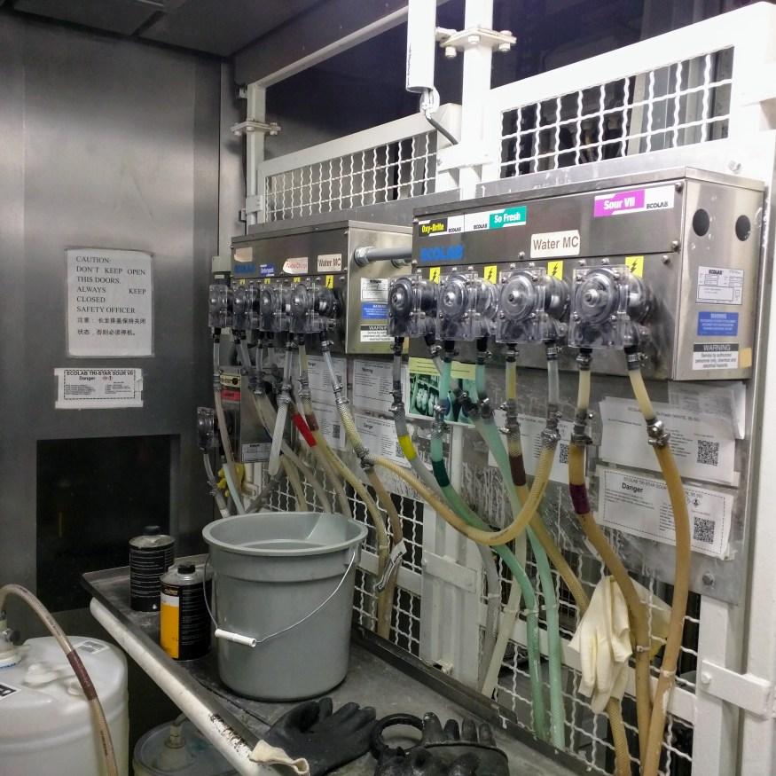 Laundry machine functions