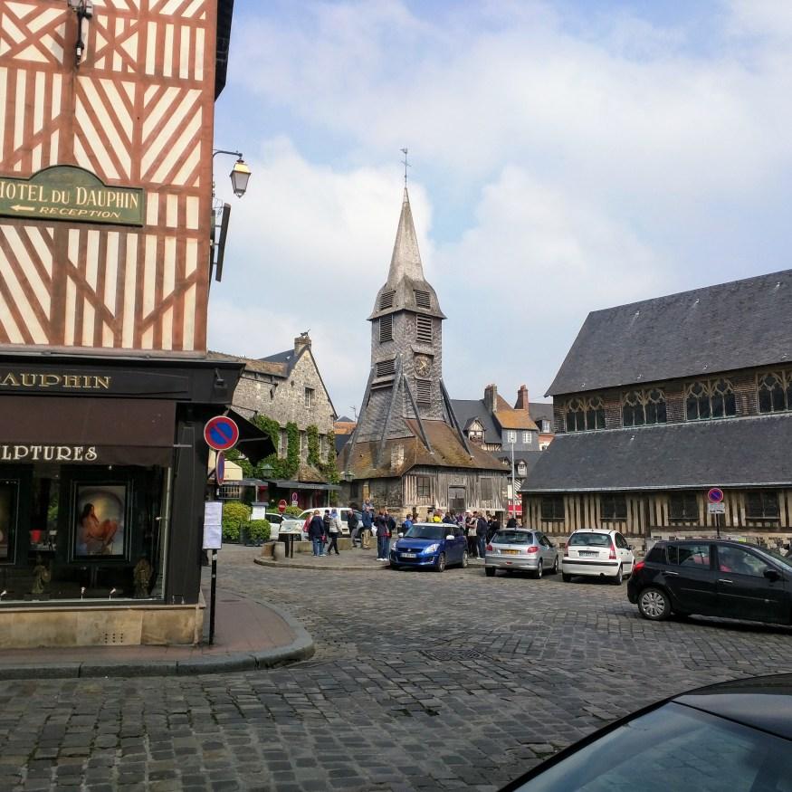 Wooden Church in Honfleur