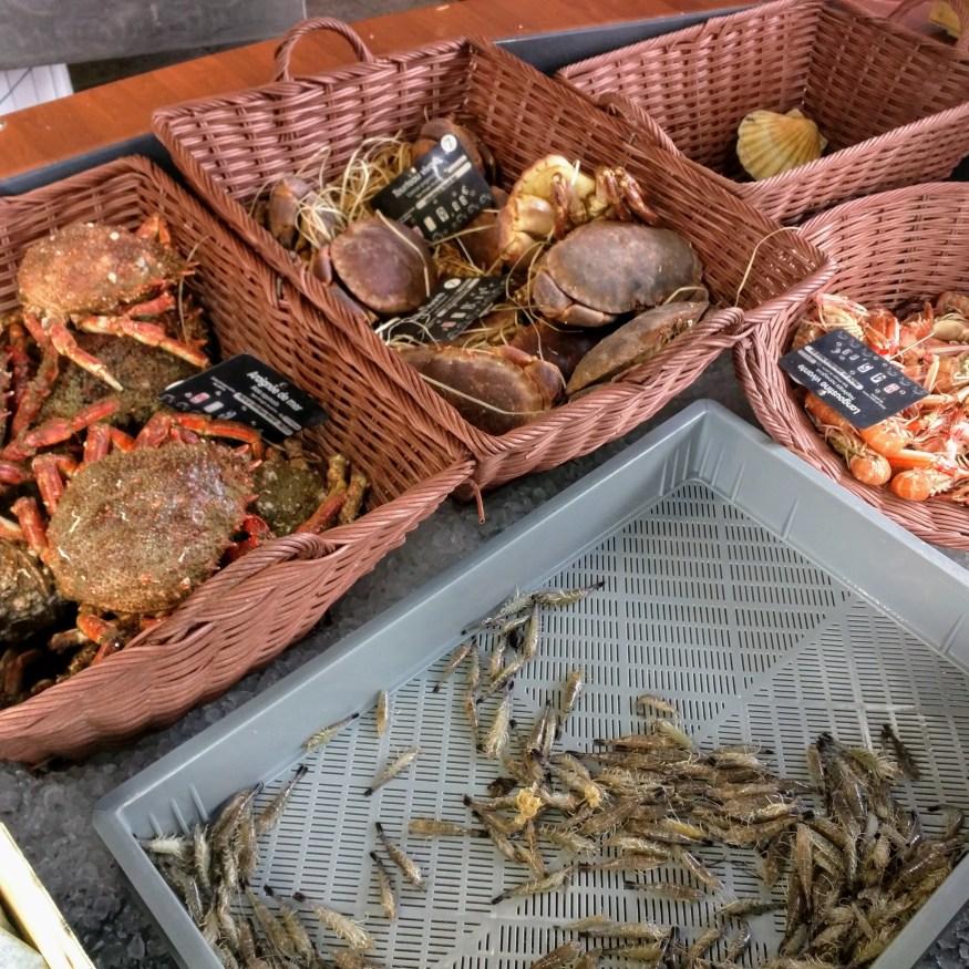 Fresh Crustaceans in Honfleur