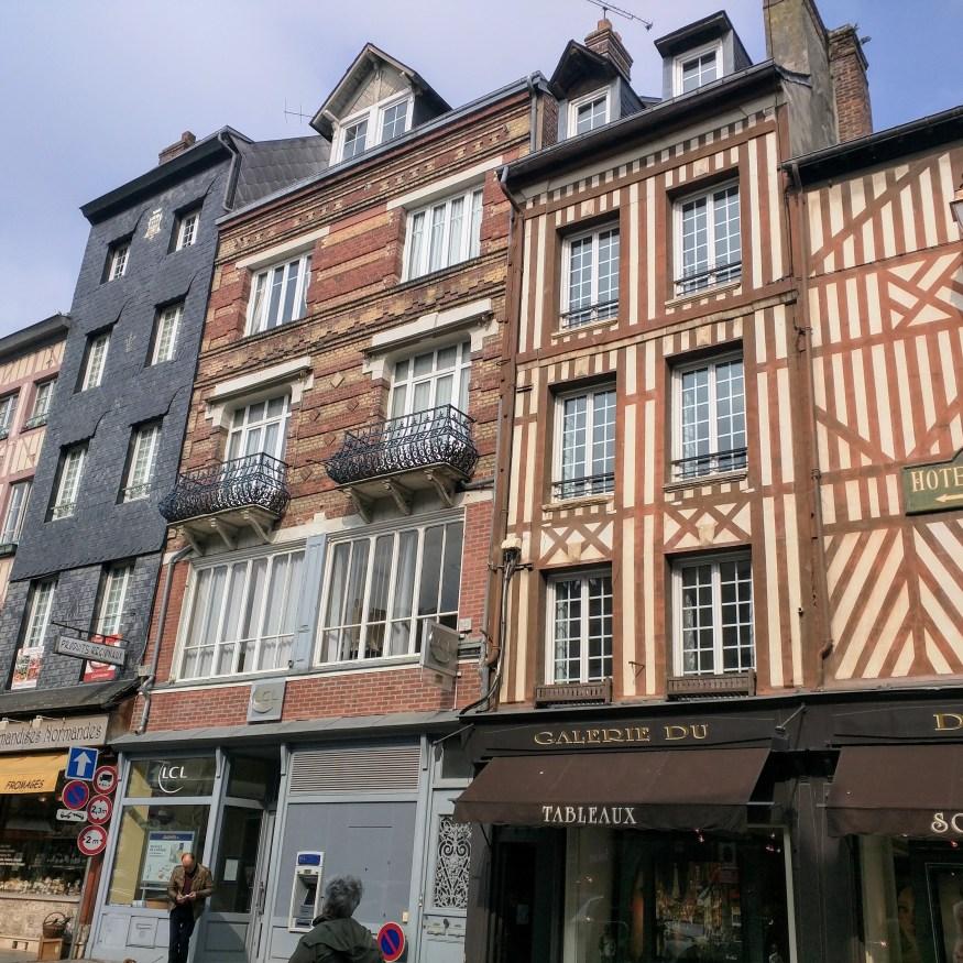 Side Street in Honfleur