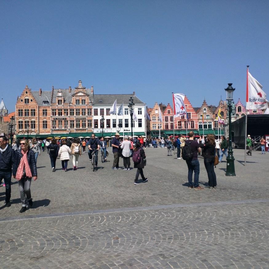 Bruges Famous Square