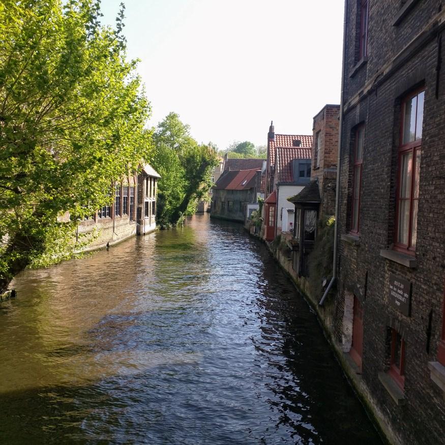 River through Bruges