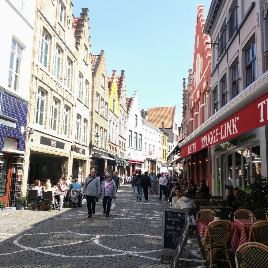 Bruges Side Street