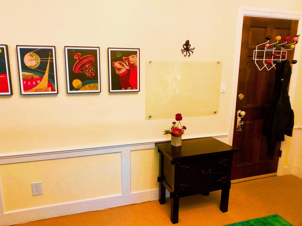 Whimsical office art