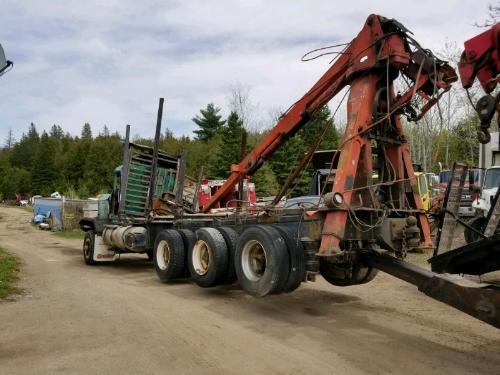Dismantling Logging Truck