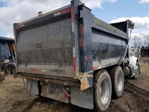 14 Foot Bibeau & Beauroc Steel Dump Boxes with Hoists