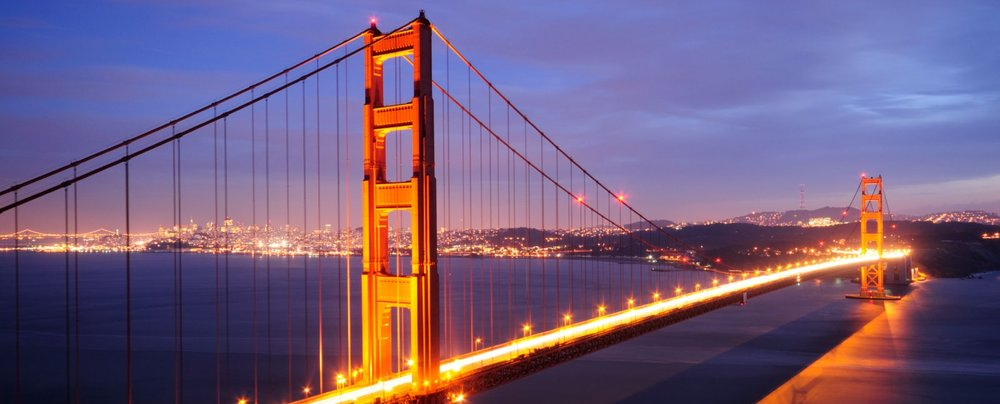 Golden gate seduced by san francisco