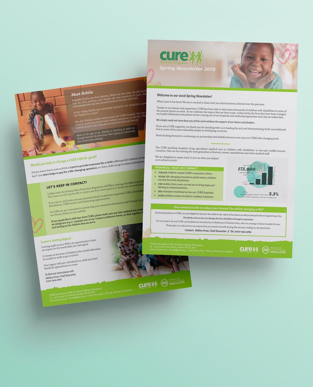 CURE UK Quarterly Newsletter