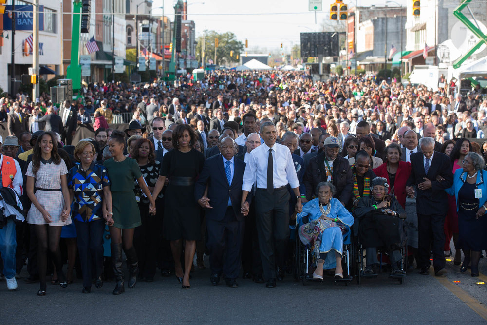 50th Anniversary of the March from Selma to Montgomery (Photo by Lawrence Jackson)