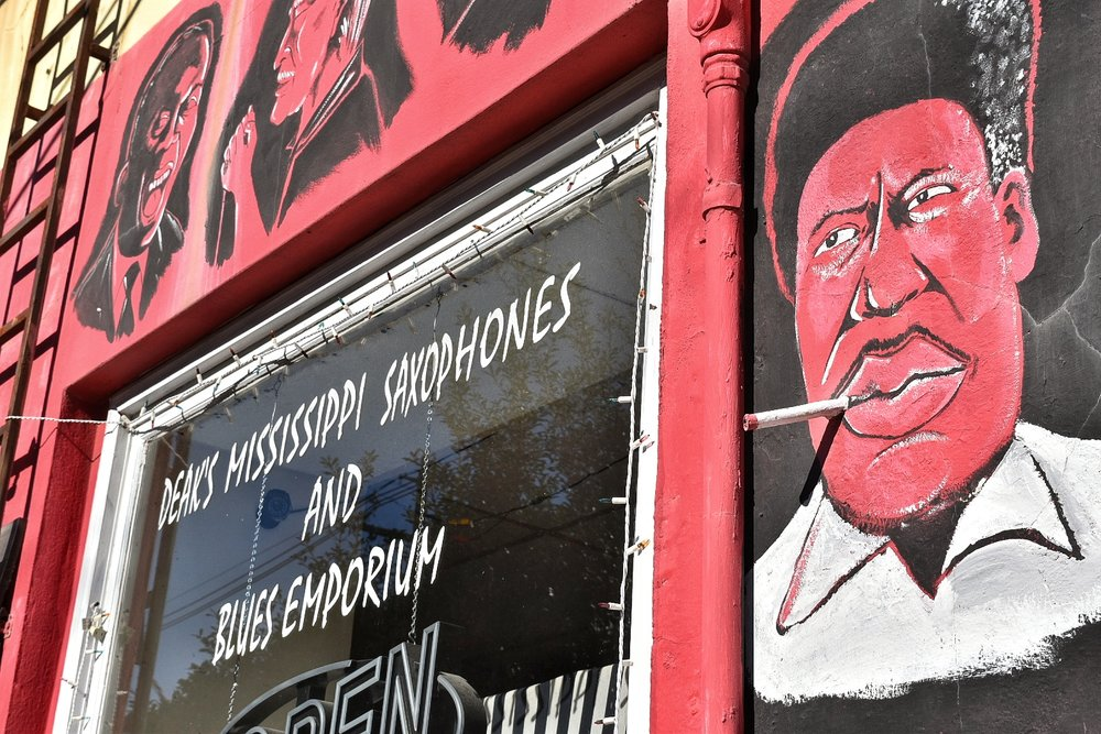 (Photo: Boswell) Clarksdale, Mississippi