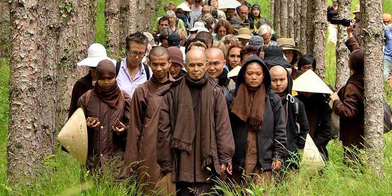 Thich Nhat Hahn at Plum Village