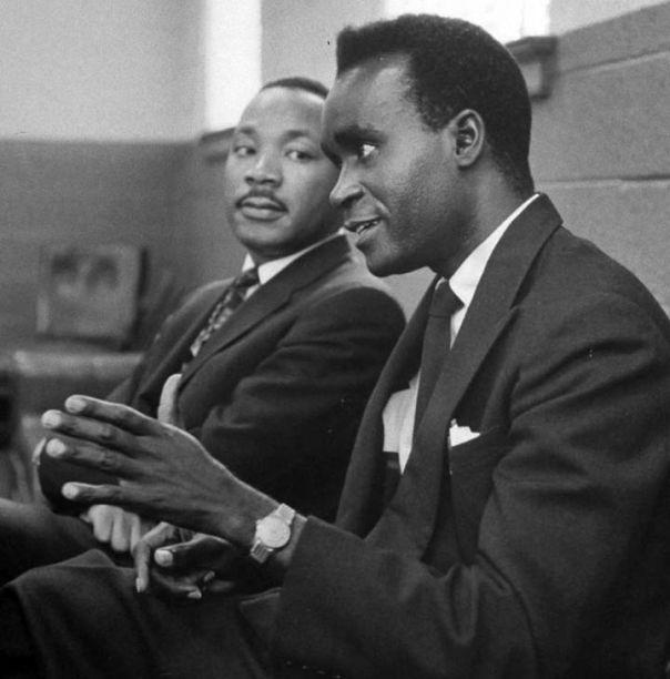 King and Kwame Nkrumah (Wikimedia Commons)