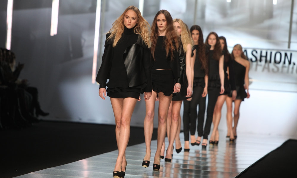 catwalk models and branding