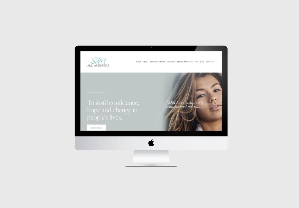 website design for medi spa