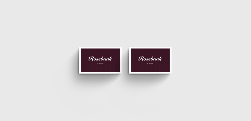 graphic design business cards for restaurant