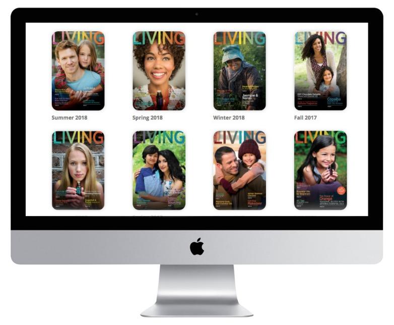 doTERRA online magazines