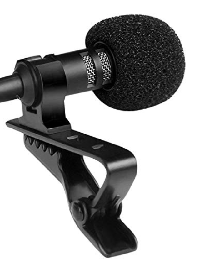lav mic for podcasting