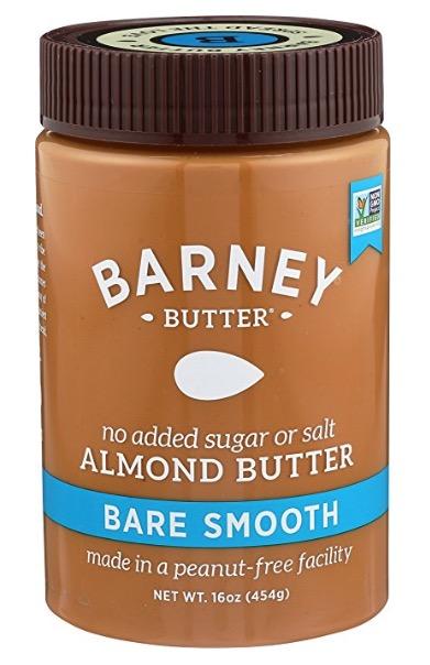organic almond butter (no sugar added)