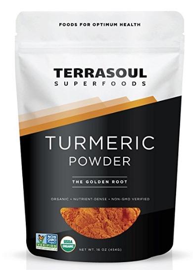 organic turmeric powder (or doTERRA turmeric)