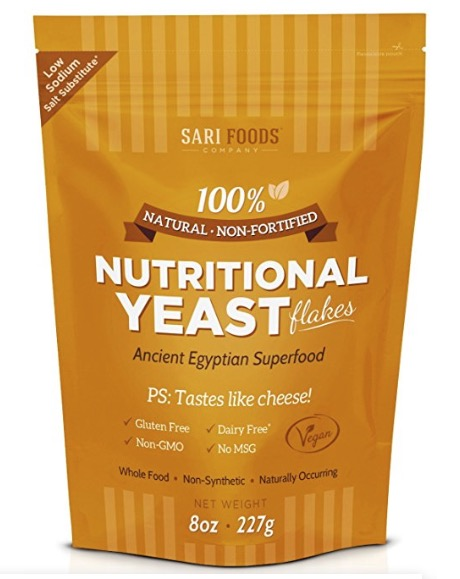 nutritional yeast (flavours + adds B vitamins)