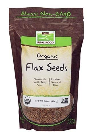 organic flax seeds (grind fresh)