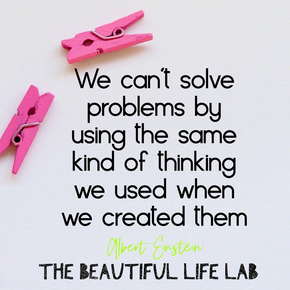 We can't solve problems Albert Einstein.jpg