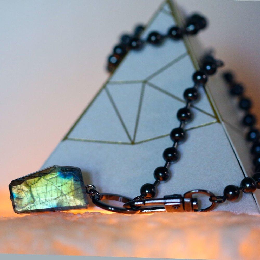 HOL:FIT Rocking Vibe Legacy Noir necklace