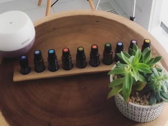 60 min essential oil class -
