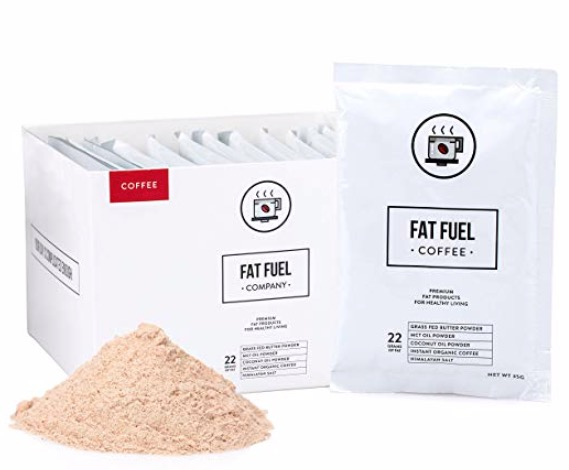 organic fat fuel coffee MCT packs