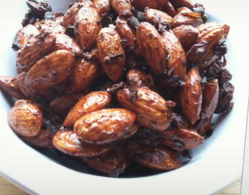 cacao almonds