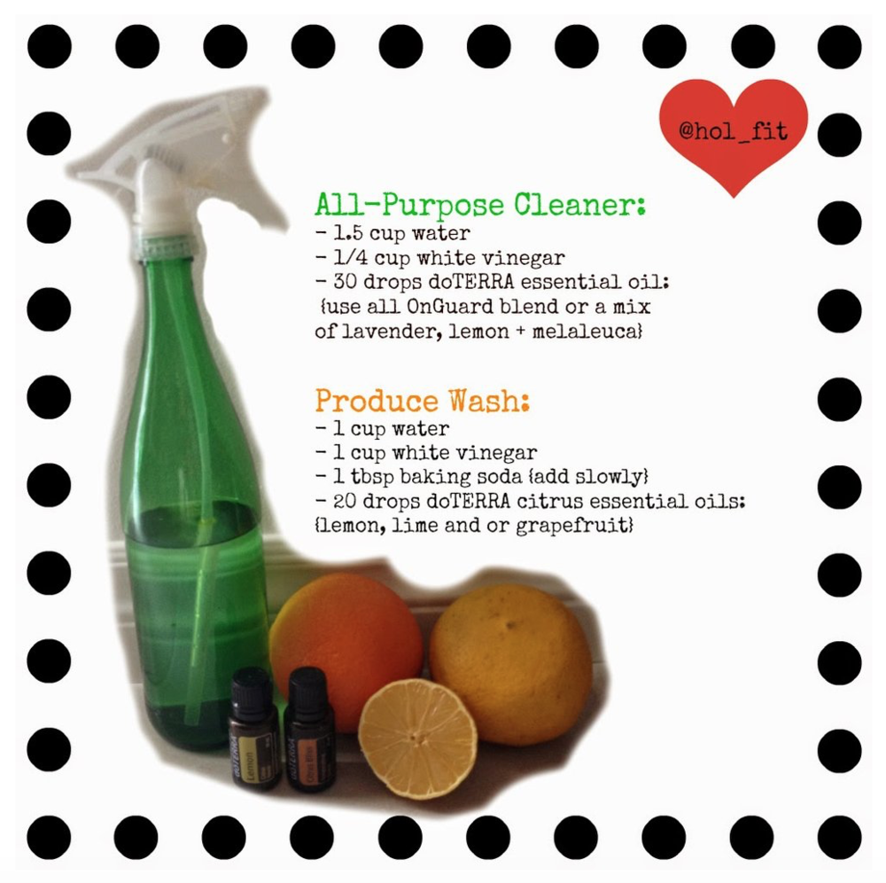 DIY Green Cleaners