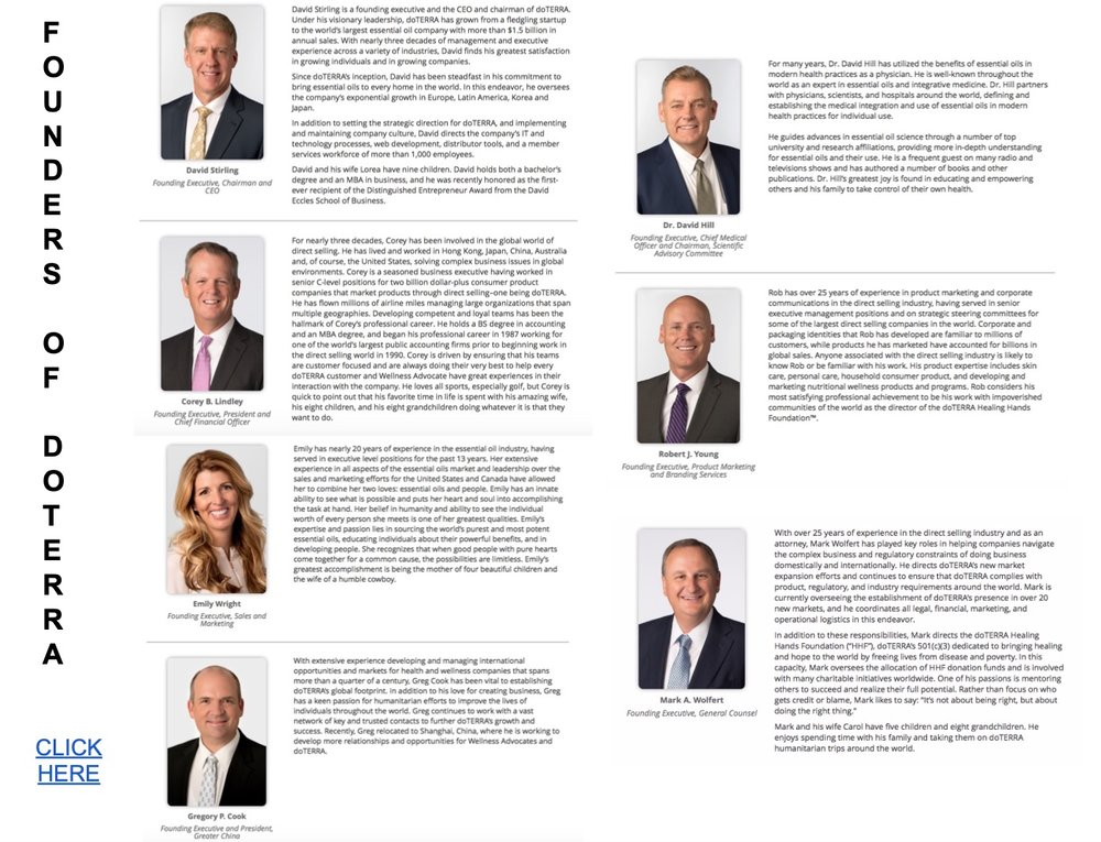 owners of doterra