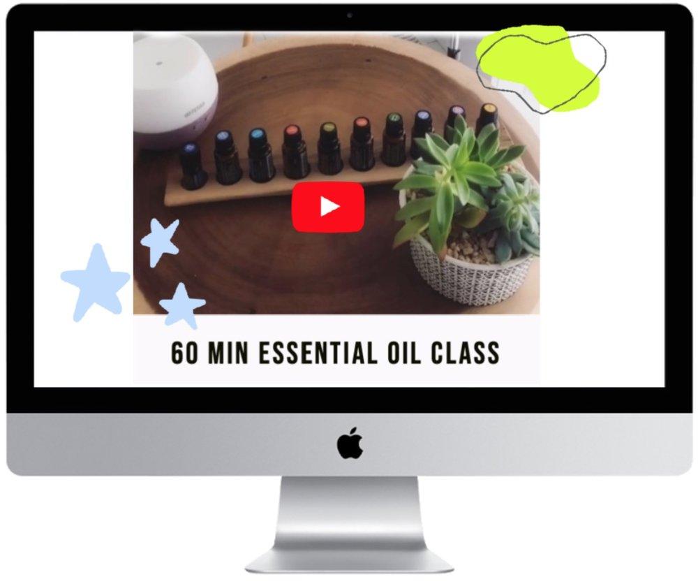 60 min intro to oils class