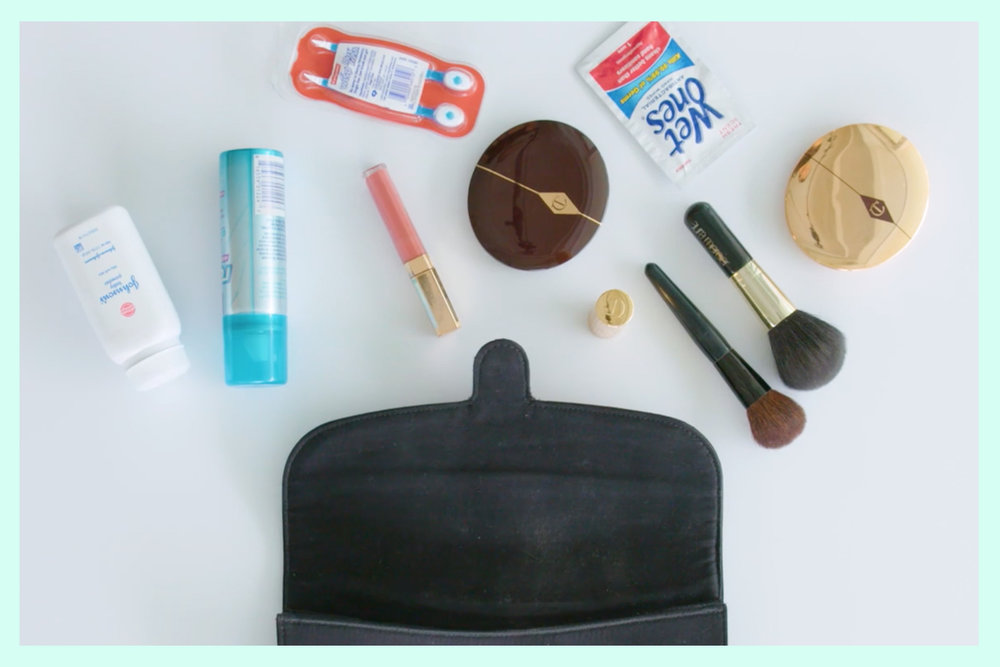 what's in my evening bag - the fashion therapist