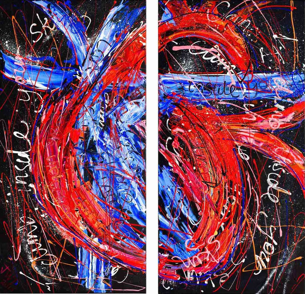 Can I Climb, Jessica Watson Thorp, 2015, 83x80cm, Acrylic on Canvas.jpeg