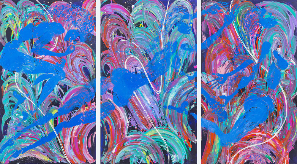 Liberation, Jessica Watson Thorp, 2016, 265x138 cm, Acrylic on Canvas.jpg