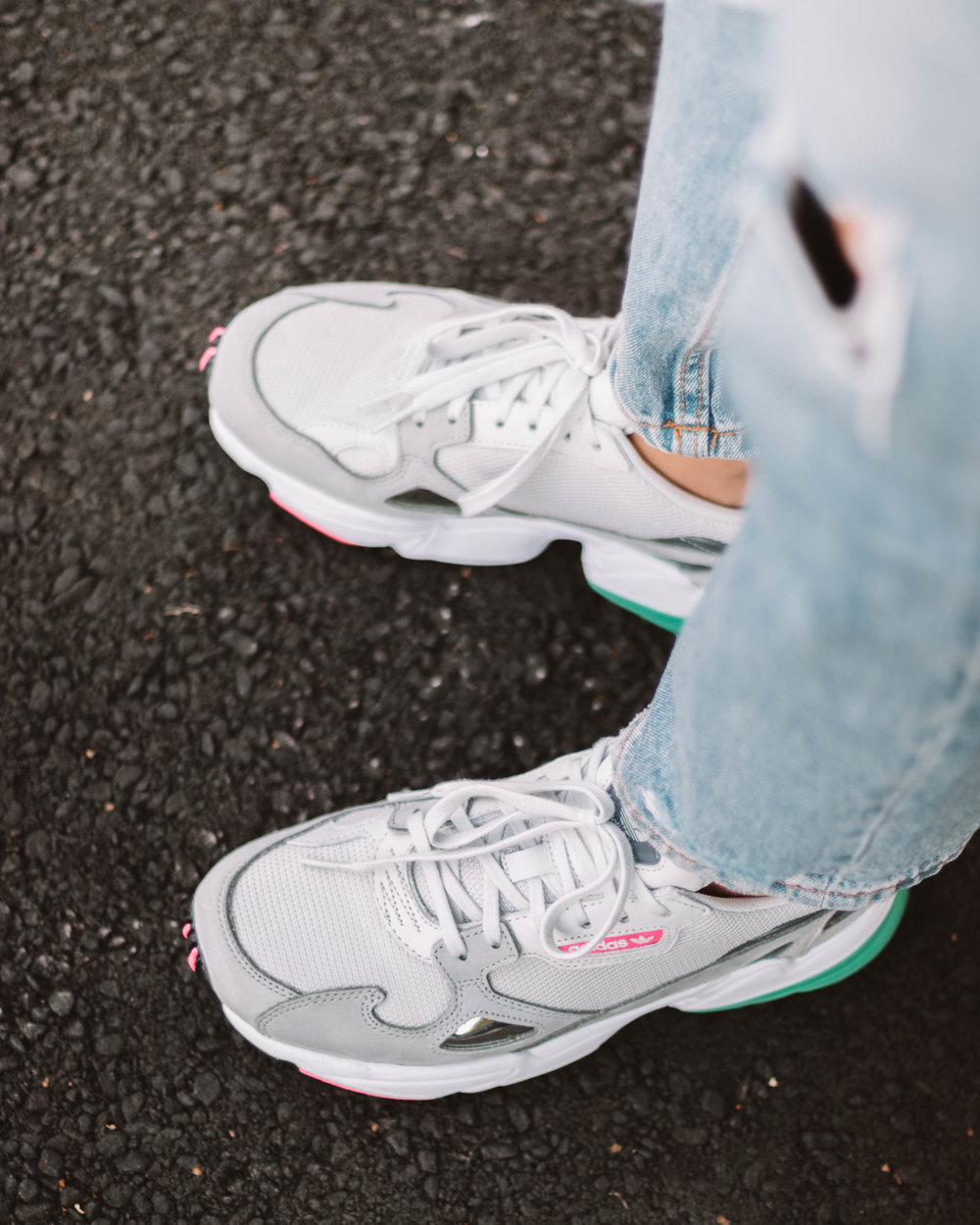 Adidas Falcon - The perfect, chunky sneakers