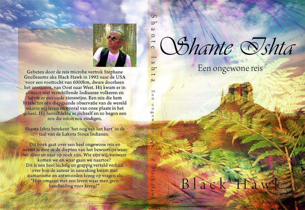 Boek cover Shante Ishta, een ongewone reis..jpg