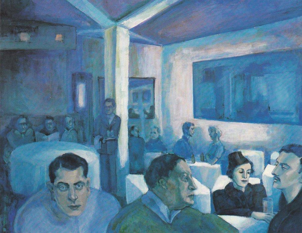 Paula Oinosen maalaus Messeniukselle - Messeniuksesta