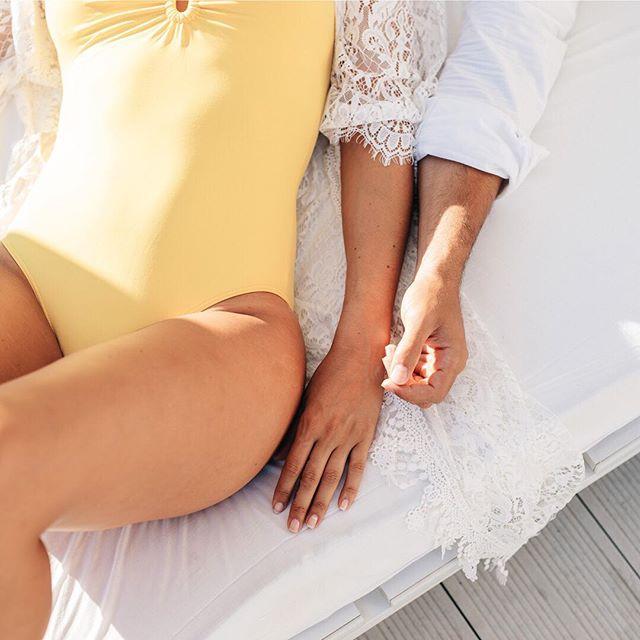 Saturday mornings are for relaxing 🔅 • #mayabeachclubibiza #ibiza #ibiza2018 #eivissa #calavadella #ibizalife #beachwear #beachclub #couple #love
