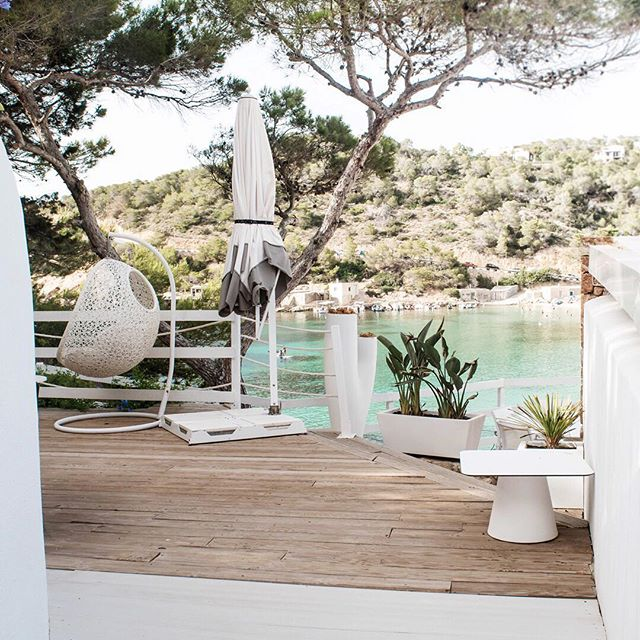 Come and explore one of the island's most idyllic settings 🔅 • #mayabeachclubibiza #ibiza #ibiza2018 #calavadella #eivissa #ibizabeach #beach #vibes #holidays #islandlife